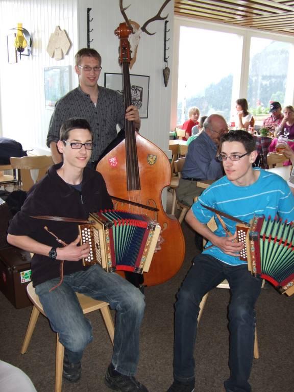 Sven, Philipp und Lukas