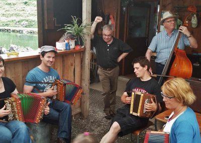 Musikanten am Seeli
