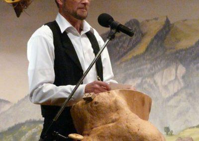 Moderator Peter Scheuber